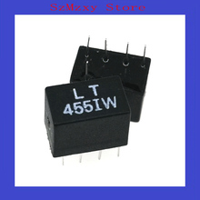 5 шт./лот 455 кГц LT455IW 455K DIP4+ 1 LT455