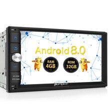 """Zucca 2 Din 7 """"Android 8.0 Universal Car Radio No Lettore DVD GPS 4G di RAM 32G ROM car Stereo Audio Wifi 4G di Avvio Veloce Unità Principale"""