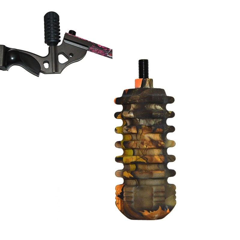 양궁 사냥 복합 활 안정제 1 조각 슈팅 활 기본 안정 장치 양궁 활 부속품 고무 안정제