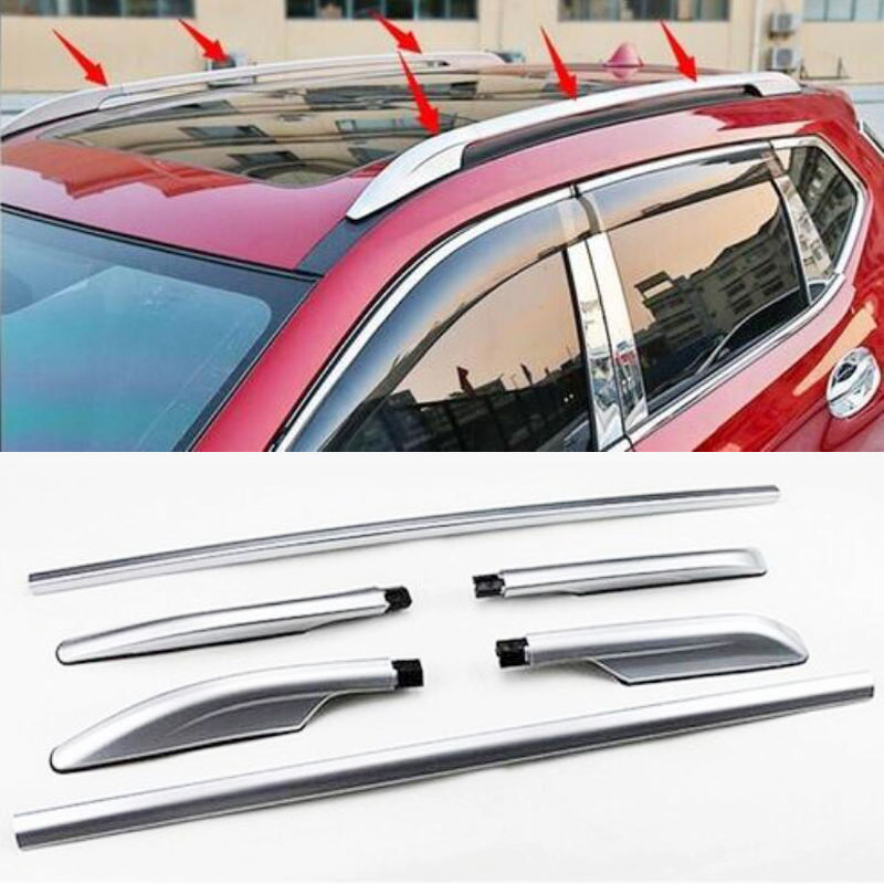 2019 Mode Auto Roof Rack Side Rails Bagagedrager Bars Auto Styling Accessoires Fit Voor Nissan X-trail Rogue 2014 2015 2016 2017