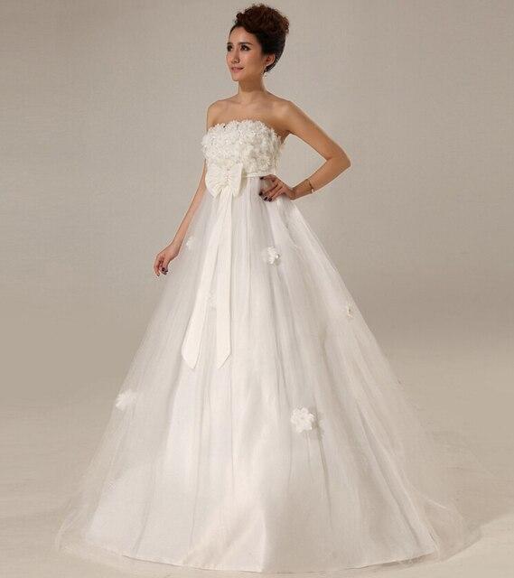 Wholesale Price Tube Top Sweet Princess Fashion Maternity Bride ...