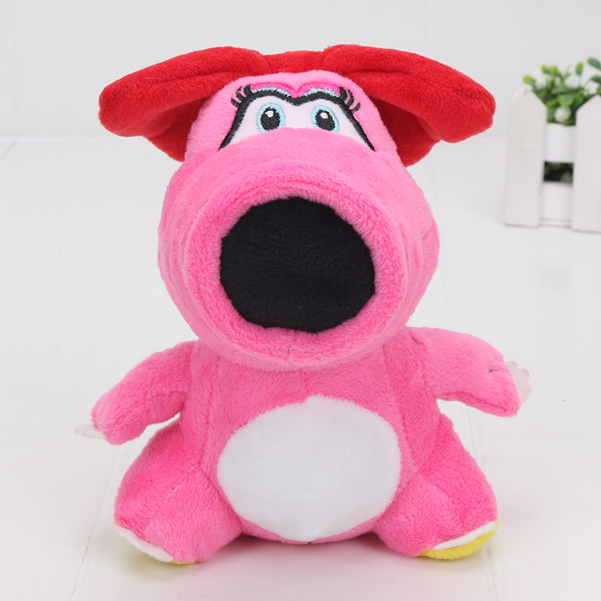 10pcs lot Super Mario Bros Birdo Plush Toy Dolls Stuffed Animals 6 15CM Nice Cute