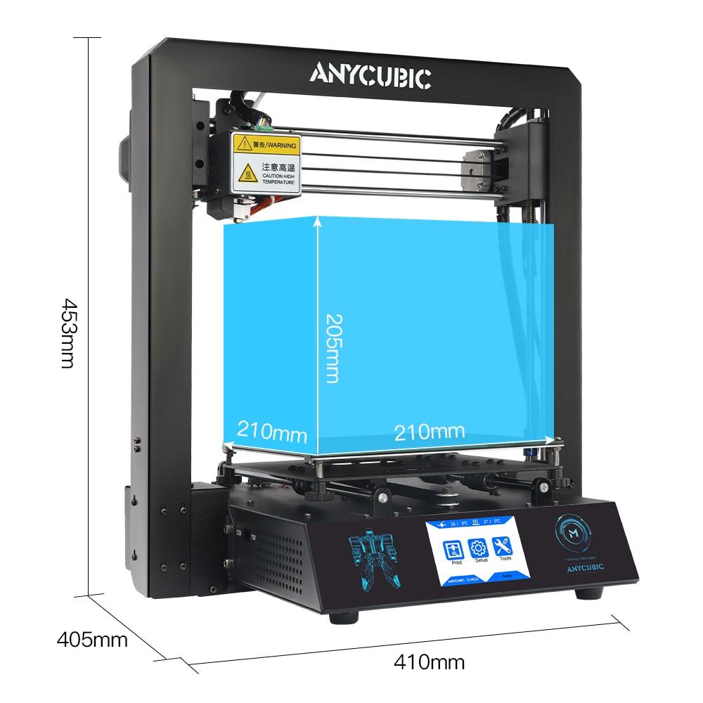 ANYCUBIC I3 メガ 3D プリンタ新アップグレードフルメタルフレーム FDM デスクトップノズルプラスサイズ格子プラットフォーム 3d プリンタ DIY キット  グループ上の パソコン & オフィス からの 3D プリンタ の中 3