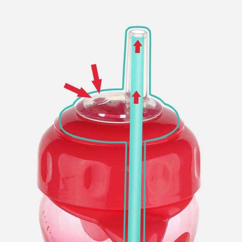 Mamadeira бутылочка для кормления ребенка бутылка для воды, молока, Детские Обучающие чашки для кормления Garrafa кормящих биберонов подарок с 3 сосками