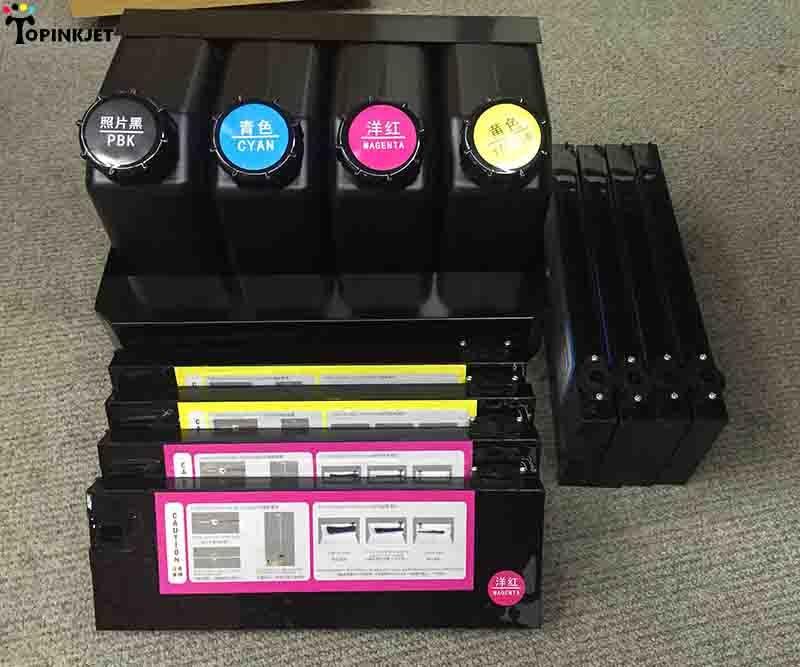Double 4 couleurs solvant/UV système d'encre en vrac pour Mimaki JV33 JV5 Roland VP SJ 540 740 imprimante CISS d'alimentation en encre UV tube