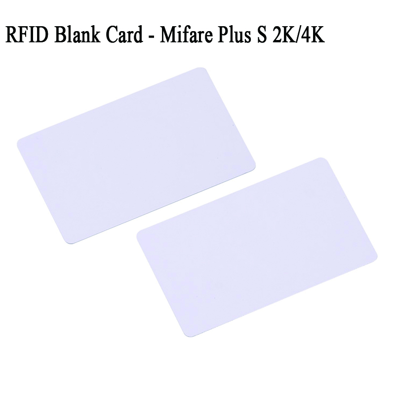 10pcs per lot Mifare Plus S 2K 4K EEPROM Blank Card 13.56mhz 14443a 14443-3 UID protocol rfid pvc plastic card 200pcs lot 24c04 at24c04 sop 8 serial eeprom 4k bit 400khz