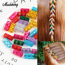 Meideheng Metal Hair Rings Beads Colorful Clips Accessories For Dreadlocks Adjustable Beads For Jewelry Making Decoration Braid catherine george bargaining with the boss