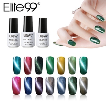 Elite99 7ml 3D Cat Eye Magnetische Nagel Gel Polnisch Semi Permanent UV LED Gel Lack Tränken weg vom UV Gel polituren Für DIY Nagel Kunst
