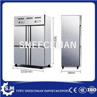 Высокая производительность Электрический 220 В передвижной дом холодильник с морозильной камерой 4 двери