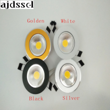 LED Round Downlight Dimmable Led downlight COB Ceiling Spot Light 3w 5w 7w 9w 12w ceiling recessed Indoor Lighting