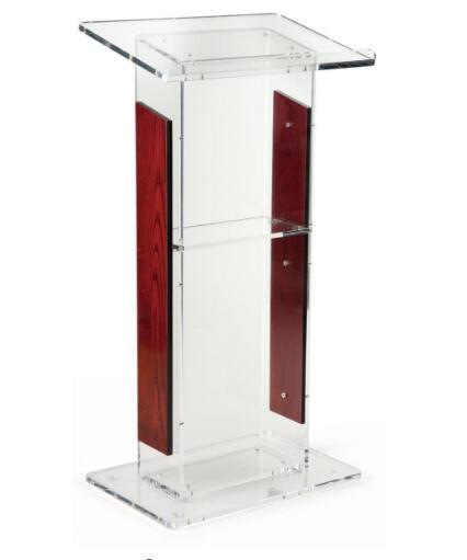 Wholesale Free Shipping Acrylic Lectern,acrylic Podium,transparent Acrylic Lectern Stand