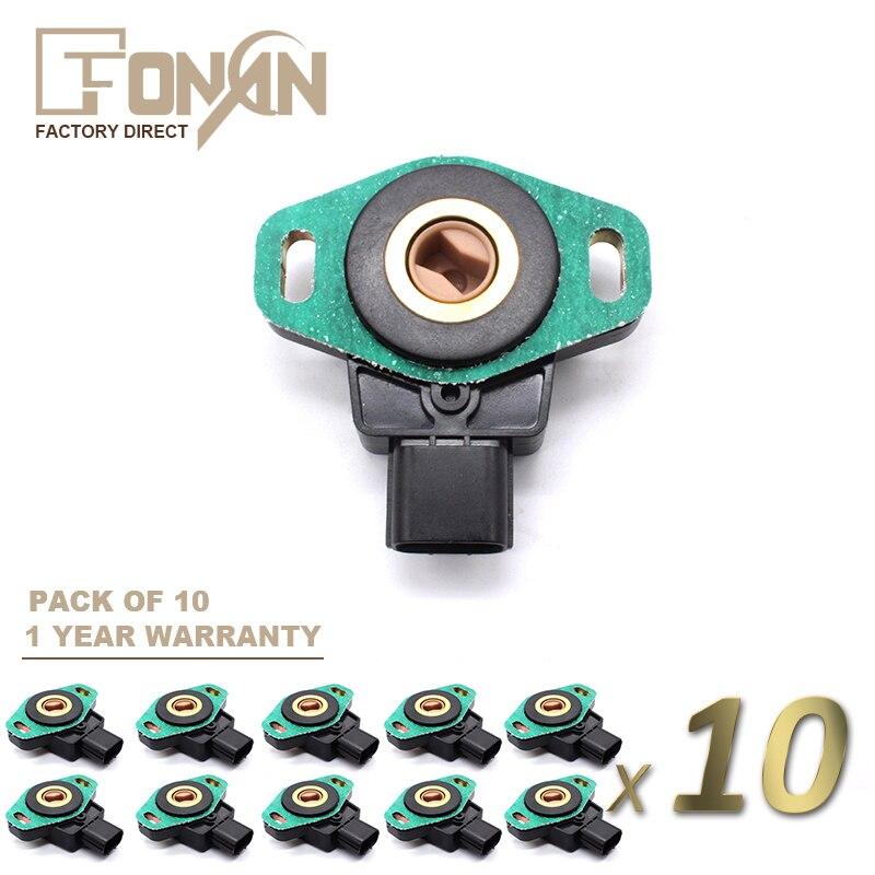 Throttle Position Sensor Kit fits 2001-2005 Honda Civic  TECHSMART