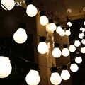 2,5 M/5 M 10/20 LEDs Solar licht String Fee Globe Birne Ball Solar lampe Outdoor Terrasse Hause Garten weihnachten Party Dekoration