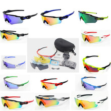 5 Lens UV400 Cycling sunglasses men&women 2016 MTB Cycling glasses Bicycle Fishing sport bike glasses goggles eyewear fietsbril