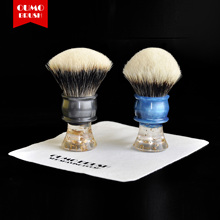 OUMO BRUSH-2019/7/5 30mm Art shaving brush  SHD Chubby Manchuria finest badger hair knot gel city
