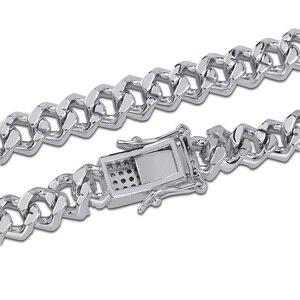 Image 5 - TOPGRILLZ pulsera ostentosa de zirconia cúbica para hombre, brazalete de cadena cubana Miami de 7, 8 y 9 pulgadas de largo, regalos de joyería para hombre