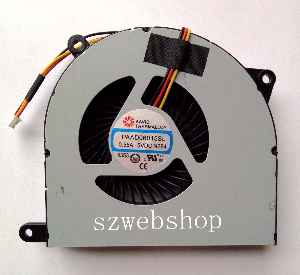 New for MSI CR70 0M CR70 2M FR700 FX720 GP70 2OD CPU Cooling laptop Fan 3pins computador cooling fan replacement for msi twin frozr ii r7770 hd 7770 n460 n560 gtx graphics video card fans pld08010s12hh