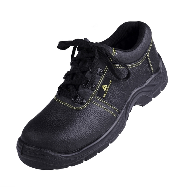 Men s Black Electrician Genuine Leather Safety Shoes Industry Workshop Work  Boots Safety Shoes 1a0a19046