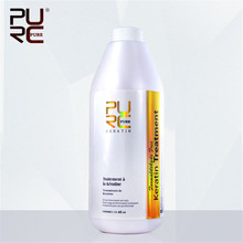 1x PURC 1000ml Brazilian Keratin Hair Scalp Treatment Repair Frizzy Fluffy Hair, Nurishing Straightening Smooth Care P43