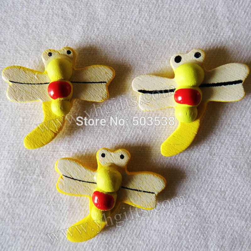 2000PCS/LOT.Yellow dragonfly stickers,Kids toys,scrapbooking kit,Early educational DIY.Kindergarten crafts.Classic toys