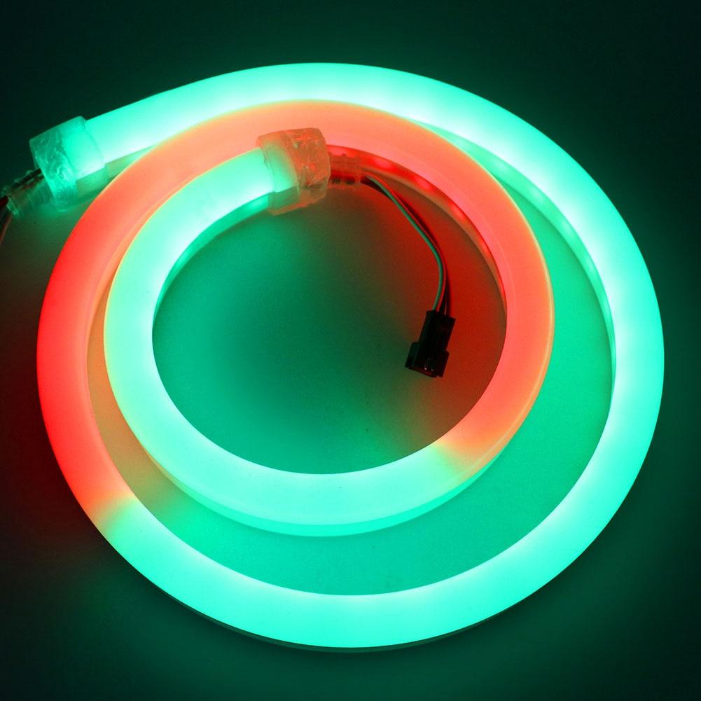 High Quality RGB LED Strip Neon Pixel WS2812B SK6812 Addressable Waterproof LED Strip Light 5050 1M/2M/5M DC 5V 12V
