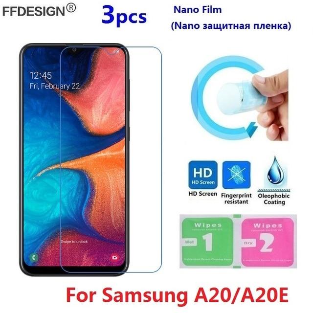 Nano Protective Film For Samsung Galaxy A20 A20e (Not Glass) Screen Protector For Samsung A20 A20e Film Screen Protect Foil