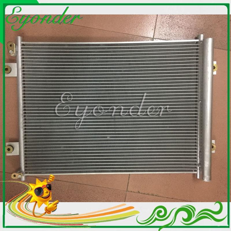 A//C Condenser With Receiver//Drier