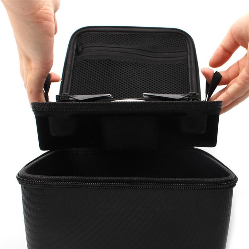 Storage box For DJI SPARK Double Deck Handbag PU Waterproof 228*205*118mm Drone Bag for DJI SPARK Drone Accessories