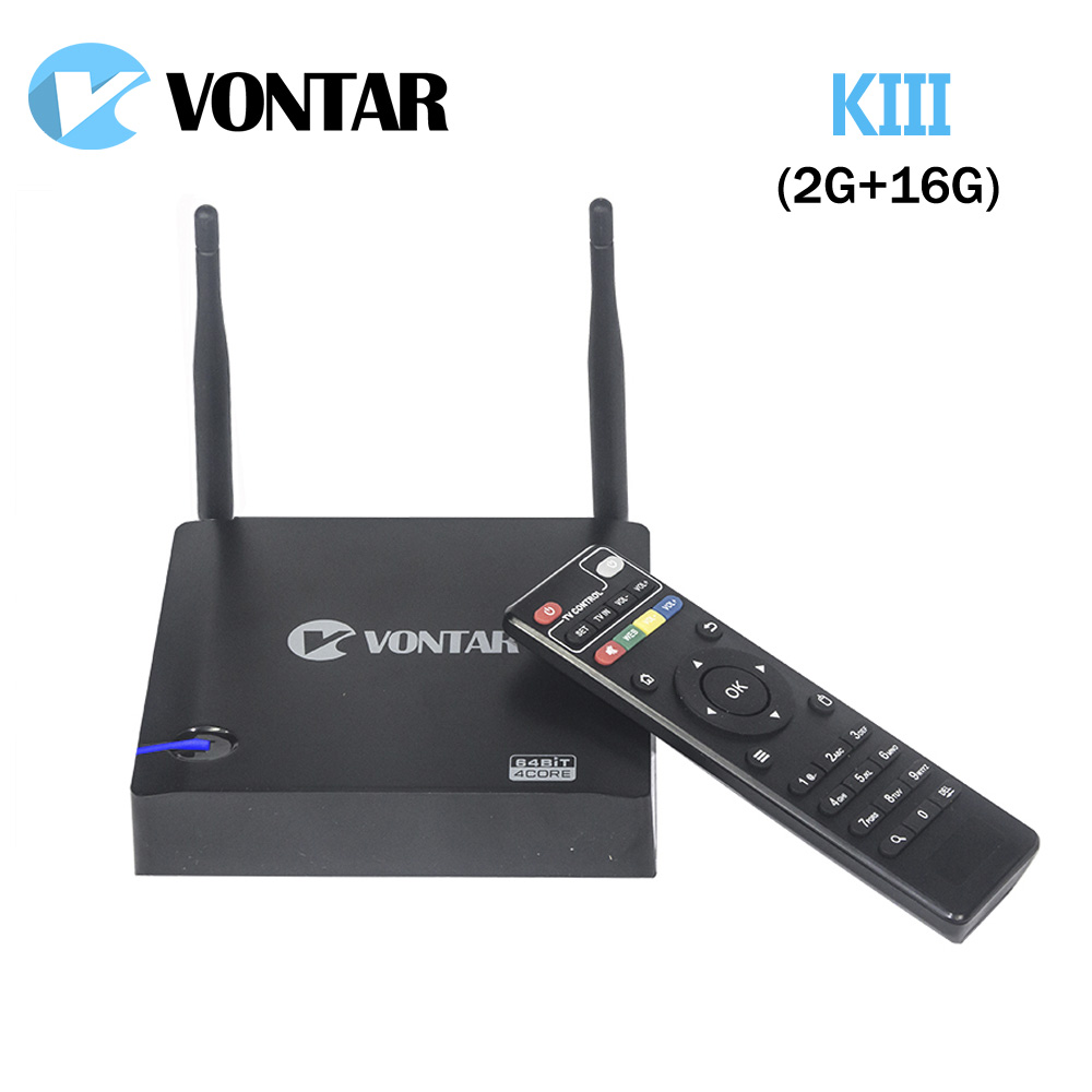 Prix pour [Véritable] VONTAR KIII Android 5.1.1 TV Box 2 GB/16 GB K3 Amlogic S905 2.4/5G Double Wifi 1000 M Gigabit LAN BT4.0 UHD 4 K 3D