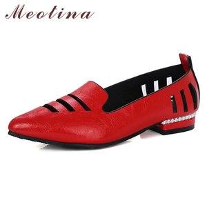 Meotina Ballet Flats Shoes Wom