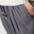 2016 de Moda de Verano Joven Estilo Flojo Tobillo-Longitud de los Pantalones de Algodón Ocasional de Los Hombres de Lino Simple Thin hombres Basculador Pantalones harén