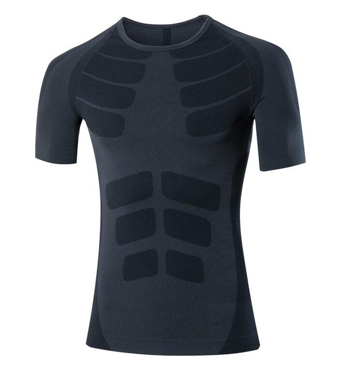 Men Pro Wicking&Quick Drying T-Shirt,Elastin Compression Tight Short Sleeve Underwaer,Breathable&Anti Wrinkle