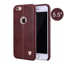 Nillkin Vintage lether PC case Englon PU Leather back Cover Case for iPhone 6 6S 4