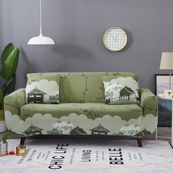Floral Printing Elastic Sofa Cover Tight Wrap All-inclusive Slip-resistant Furniture Slipcover Soft Sofa Towel 1/2/3/4-seater