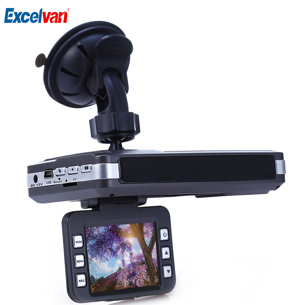 VGR - B Car DVR Camera Laser Radar Full Band Detector 720P 30FPS Dash Camera Recorder Russian And English Voice Support SD Card only for russian market 170 degree 2 4 car dvr e dog vgr b laser radar full band detector dvr camera speed inspection 3 in 1