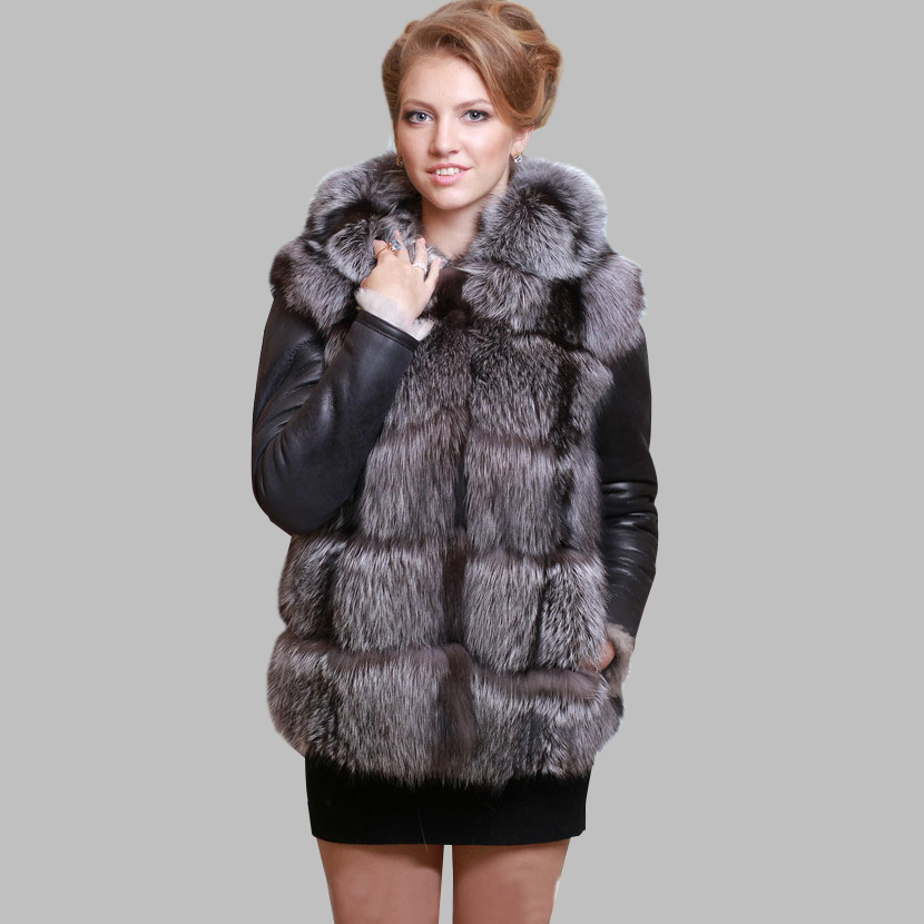 Aliexpress.com : Buy New Arrival High Quality Real Silver Fox Fur ...