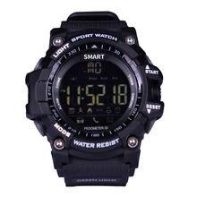 Smart Watch Wireless Bluetooth control ex16 Sports Pedometer Seconds Alarm Clock Smart Watch 5ATM IP67 Waterproof Men's Watch