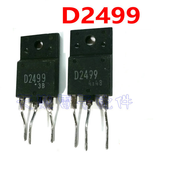1PCS 2SD2499 D2499 TO-3P Color TV Line Display Switch Transistor Transistor