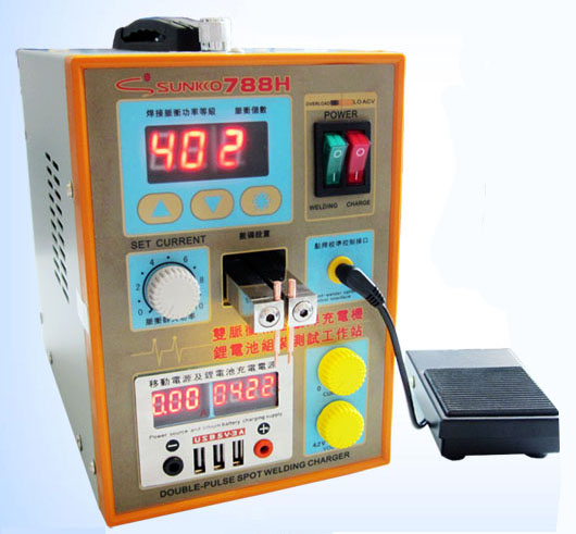 Update SUNKKO 788H Battery Spot Welding machine 788H Dual Pulse Welder Battery Charger 220V thermocouple spot welding machine tl weld metal ball lotus wire feeder thermocouple welding