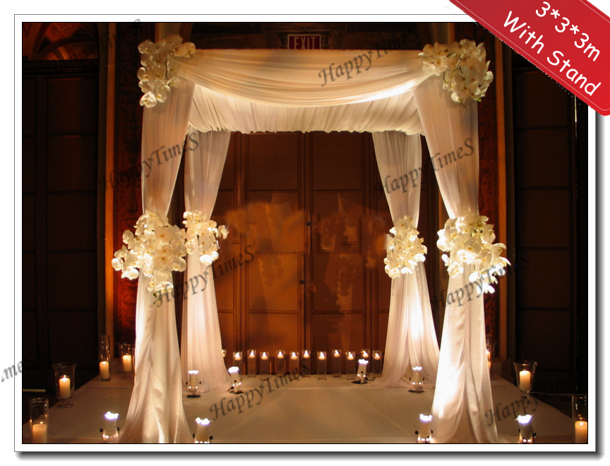 wedding hall decorations 3 3 3m wedding decoration reception with matched 9690