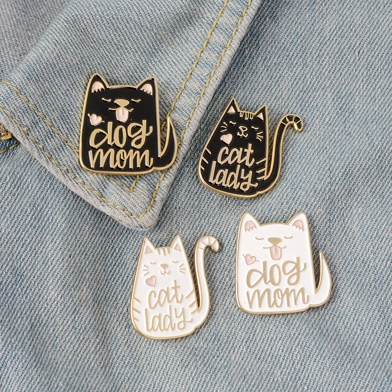 QIHE-JEWELRY-Cartoon-Animal-Dog-and-Cat-Pins-Enamel-pins-Badges-Brooches-for-dog-cat-kitty(1)