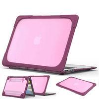 Voor macbook air 13 hard case cover shell skin shockproof voor macbook air 13 ''a1369 a1466 laptop mouw vervangen case stand funda