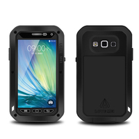 For Galaxy A5 Original LOVE MEI Extreme Powerful Waterproof Dropproof Metal Case For Samsung Galaxy A5