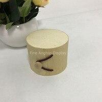 Ahşap Küçük Kutu Takı Yüzükler Küpeler Hediye Ambalaj Kutusu Düğün favor için