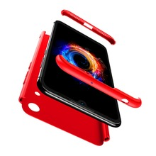 For Huawei Honor 8A case 3-in-1 Plastic Hard 360 Full Protect Case For Huawei Honor8a Cover Anti-Shock Fully PC Case Honor 8a цены