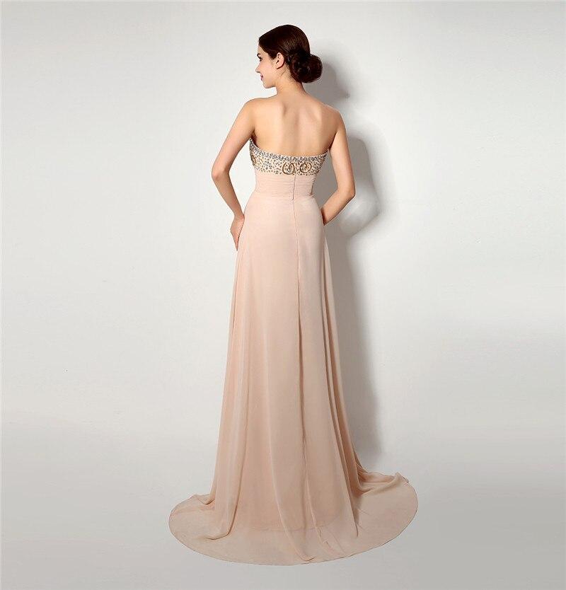 Forevergracedress haute qualité robe de bal magnifique chérie en mousseline de soie perles cristaux robe de soirée formelle grande taille sur mesure - 2