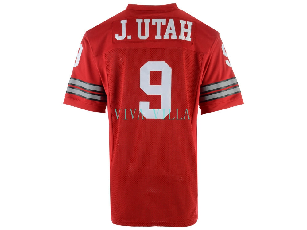 купить Jonny Utah Jersey #9 Point Break Movie Jersey American Football Jersey Red All stitched по цене 3100.17 рублей