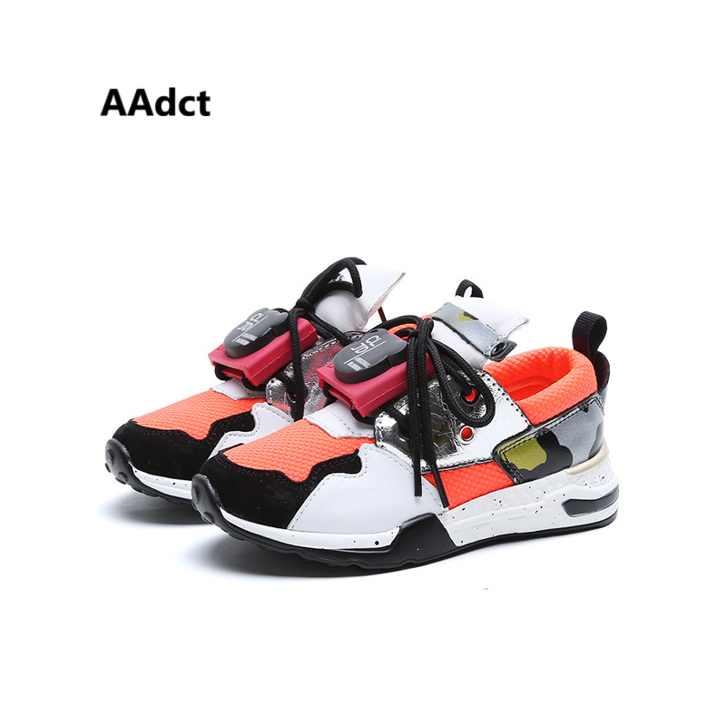 AAdct autumn kids shoes running sports boys shoes sneakers Brand High quality student girls shoes aadct 2018 new fashion soft girls boys shoes running sports kids shoes sneakers brand spring autumn children shoes