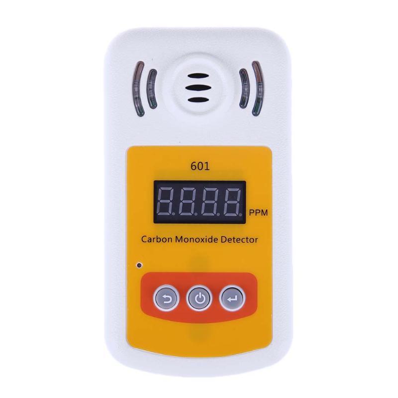 LCD Display Carbon Monoxide Detector Alarm Sensor Digital Home Audible Visual Alarm Warning Portable CO Gas Carbon Detector