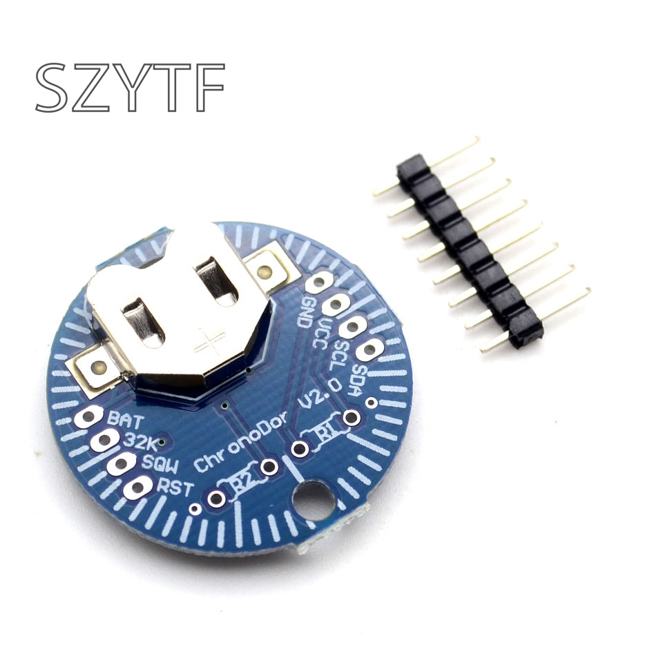 RTC <font><b>real</b></font>-time <font><b>clock</b></font> module DS3231SN ChronoDot V2.0 I2C für Arduino Speicher DS3231 modul image